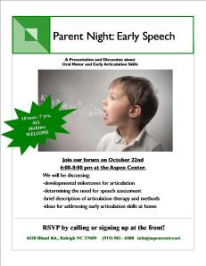 Articulation Night Flyer